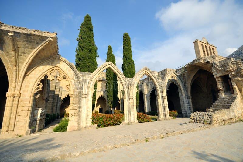 Abbaye de Bellapais, Kyrenia photos libres de droits