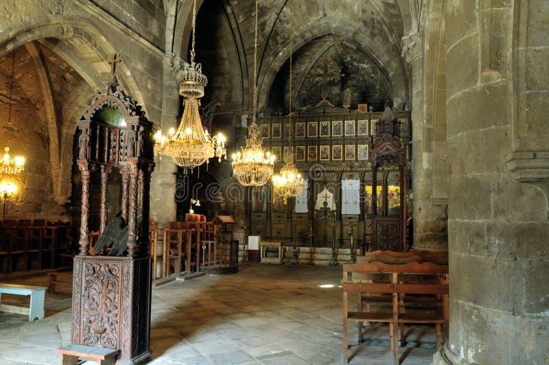 Abbaye de Bellapais, Kyrenia photographie stock