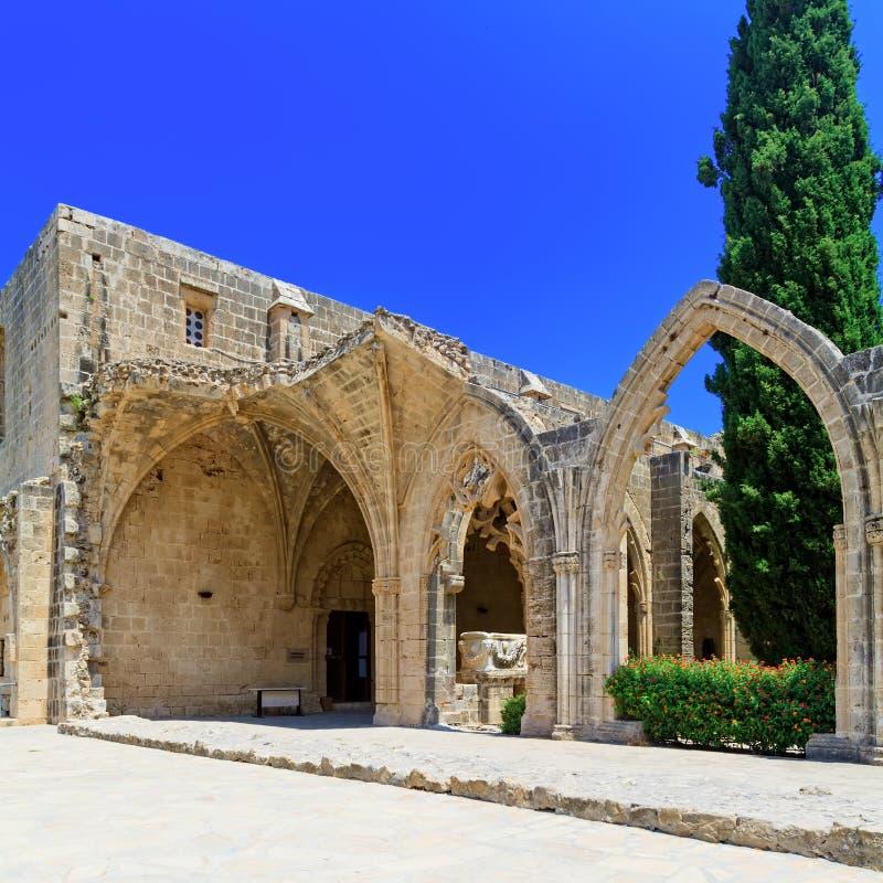 Abbaye de Bellapais, Kyrenia, Chypre du nord photographie stock