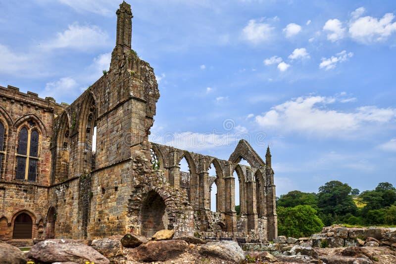 Abbaye de Bolton dans North Yorkshire photographie stock