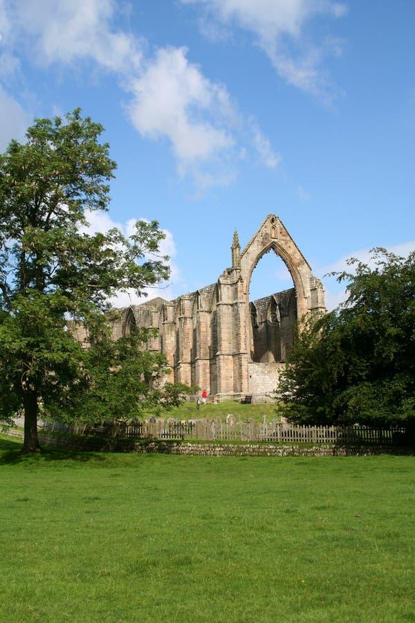 Abbaye de Bolton, Yorkshire. photo stock
