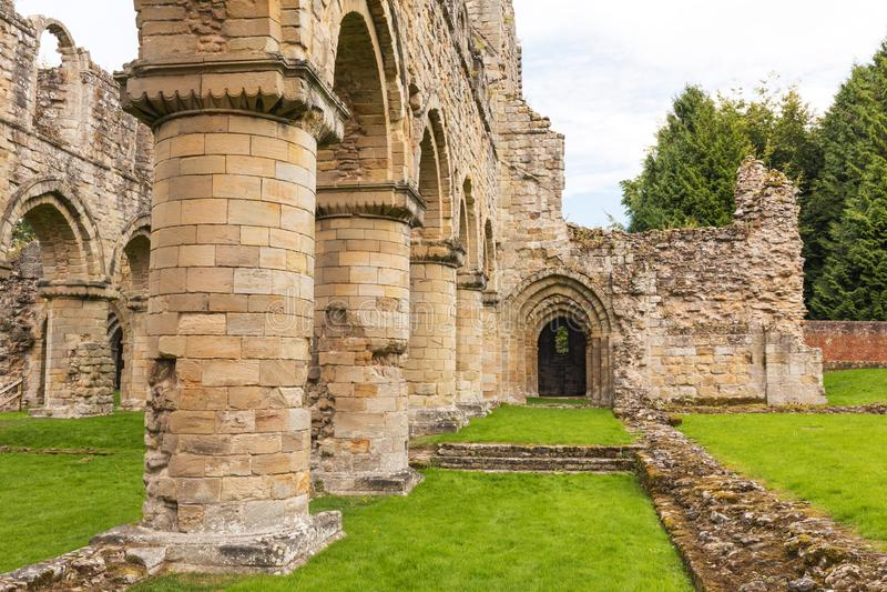 Abbaye de Buildwas, Shropshire, Angleterre images stock
