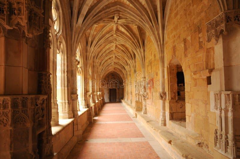 Abbaye de Cadouin dans Perigord photos stock