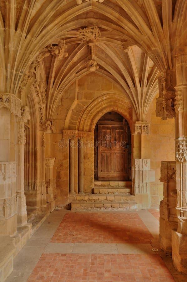 Abbaye de Cadouin dans Perigord photographie stock libre de droits