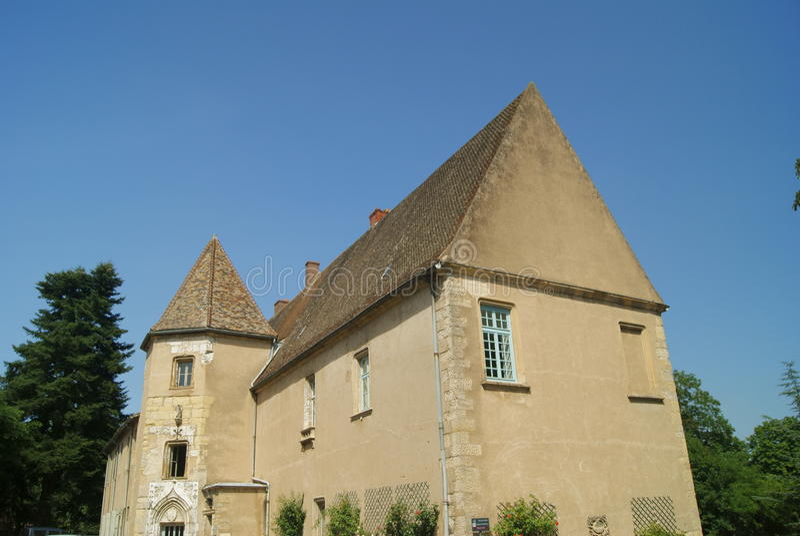 Abbaye de Cluny photo libre de droits