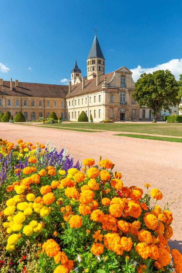 Abbaye de Cluny, la Bourgogne, France images stock
