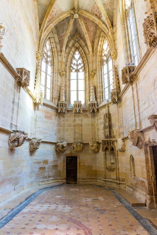 Abbaye de Cluny, la Bourgogne, France images libres de droits