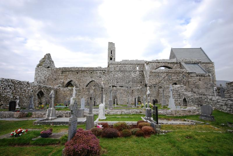 Abbaye de Corcomroe photos libres de droits