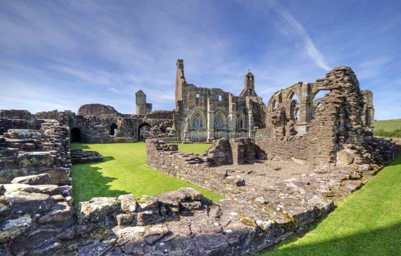 Abbaye de Crossaguel photographie stock libre de droits