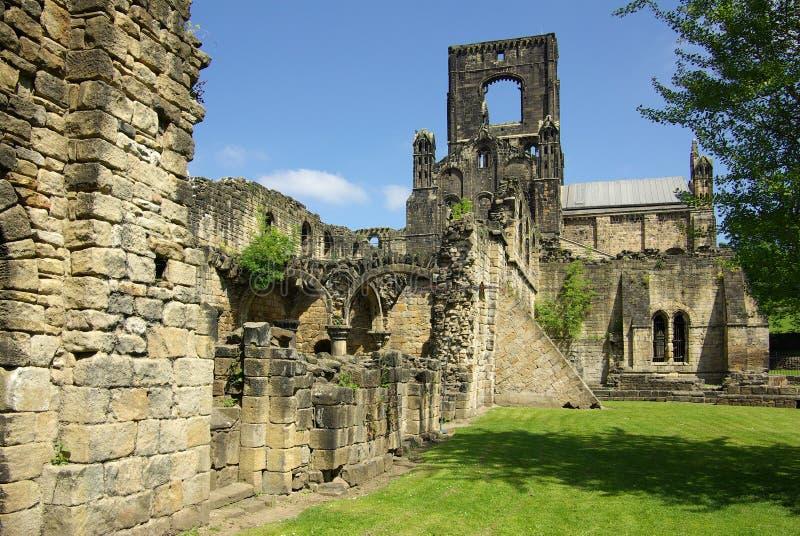 Abbaye de Kirkstall, Leeds, Grande-Bretagne photos stock