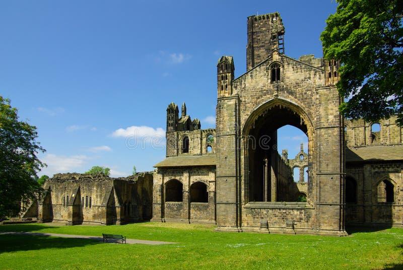 Abbaye de Kirkstall, Leeds, R-U photographie stock