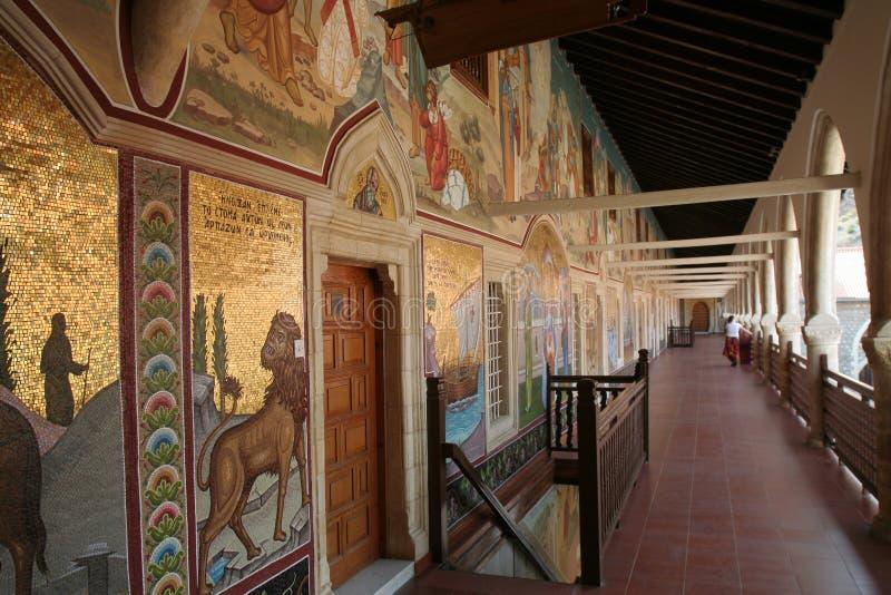 Abbaye de Kykkou en Chypre image stock