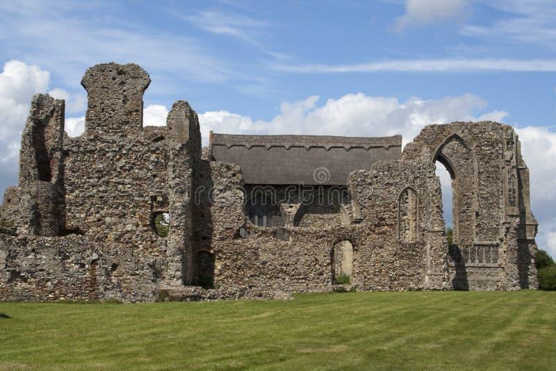Abbaye de Leiston, Suffolk, Angleterre photos stock
