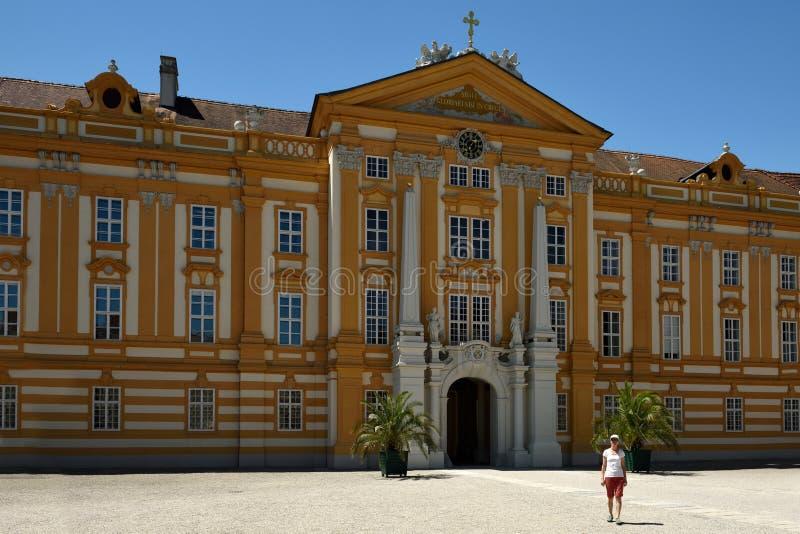 Abbaye de Melk, Wachau, Autriche photos stock