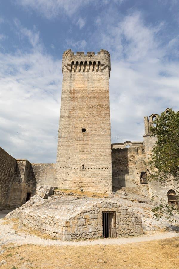 Abbaye de Montmajour près des Frances d'Arles Provence image stock