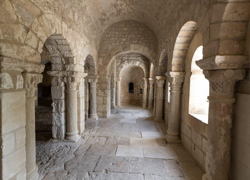Abbaye de Montmajour près des Frances d'Arles Provence photos stock