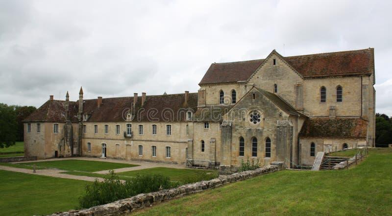 Abbaye de noirlac photo stock