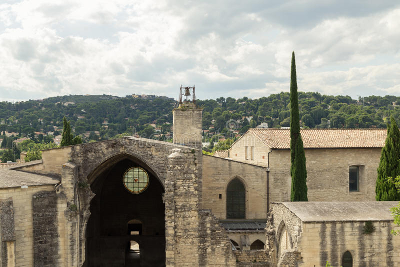 Abbaye de Notre-Dame-du-Val-De-Bénédiction Chartreuse, Avignon photo stock
