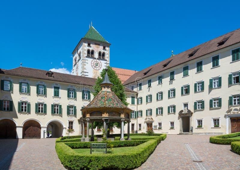 Abbaye de Novacella, Tyrol du sud, Italie images libres de droits