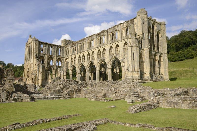Abbaye de Rievaulx image libre de droits
