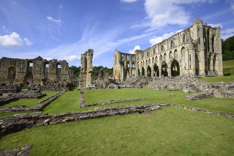 Abbaye de Rievaulx photos libres de droits