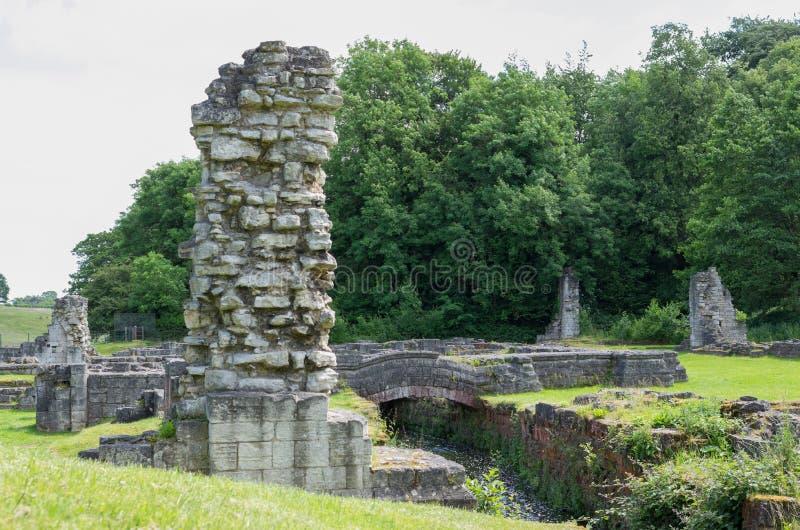 Abbaye de Roche, Maltby, Rotherham, Angleterre photos libres de droits