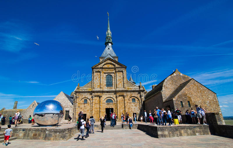 Abbaye de Saint Michel de Mont photos stock