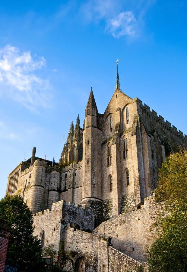 Abbaye de Saint-Michel de Mont, France images libres de droits