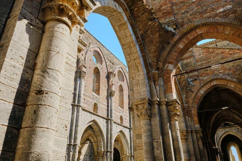 Abbaye de San Galgano photos stock