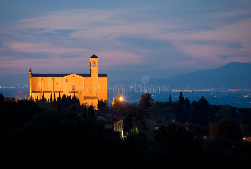 Abbaye de San Giusto photo libre de droits