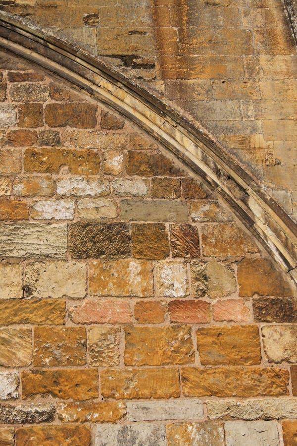 Abbaye de Tewkesbury, Angleterre, détail architectural image libre de droits