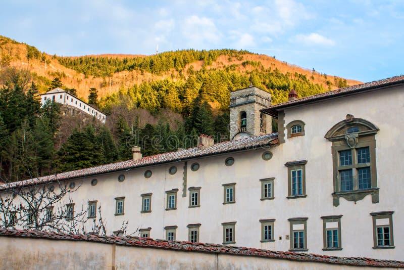 Abbaye de Vallombrosa en Toscane, Italie photo stock