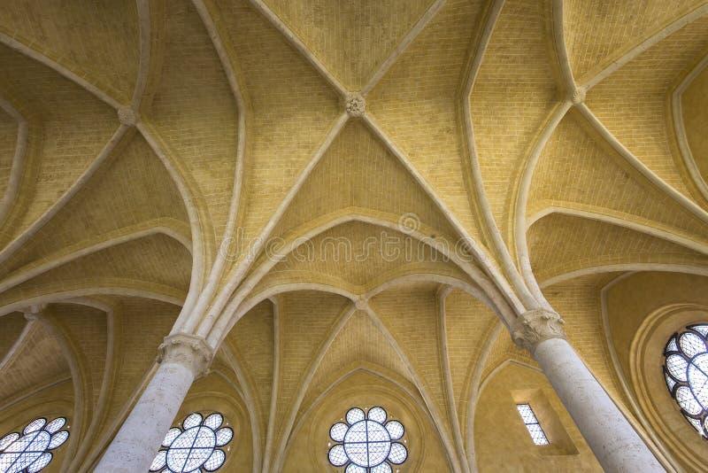 Abbaye de vignes de DES de Jean de saint, Soissons, France photo libre de droits
