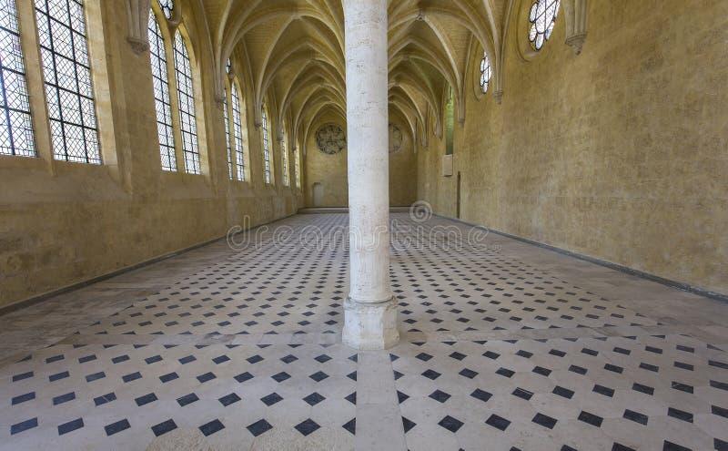 Abbaye de vignes de DES de Jean de saint, Soissons, France photographie stock