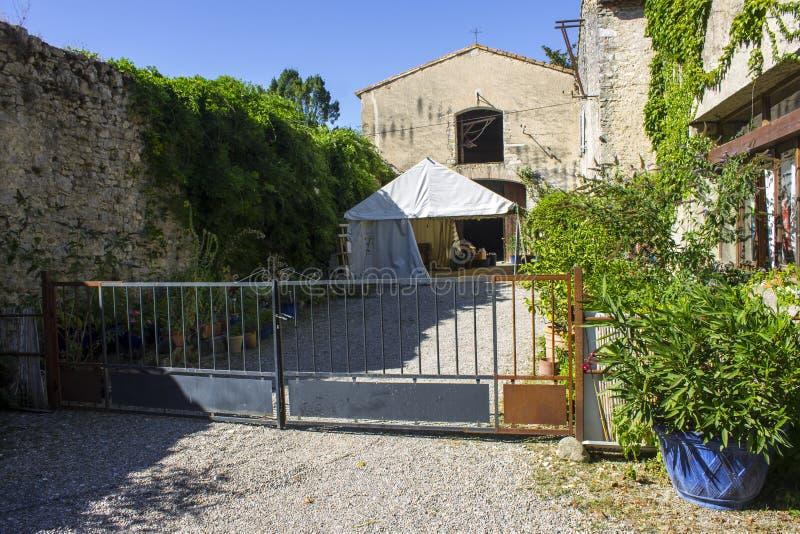 Abbaye de Villelongue, Francia fotografie stock libere da diritti