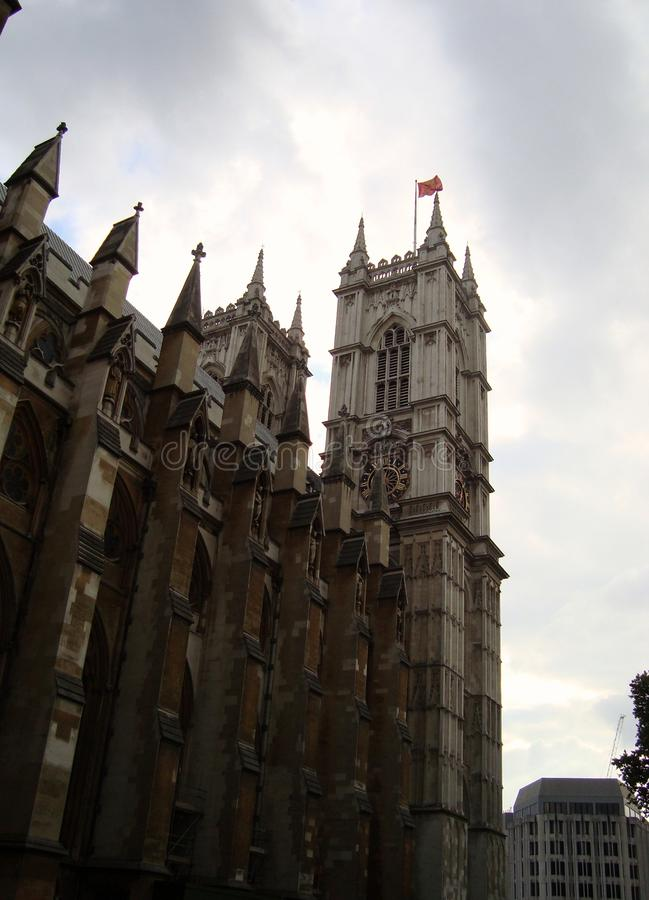 Abbaye de Westminster en été à Londres photos libres de droits