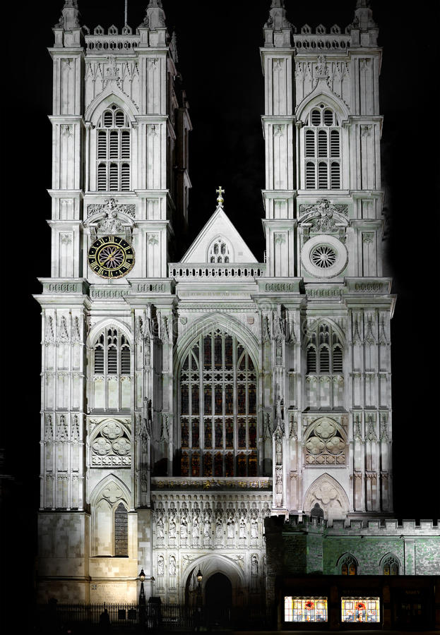 Abbaye de Westminster, Londres image stock