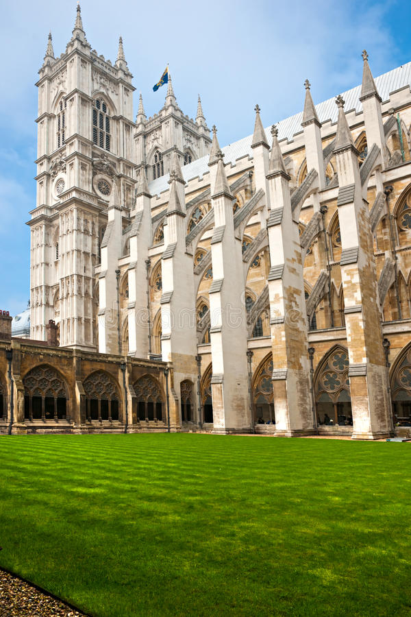 Abbaye de Westminster, Londres, R-U. photos libres de droits