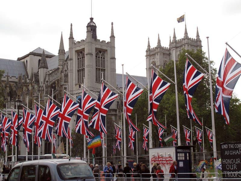 Abbaye de Westminster royale de mariage images libres de droits
