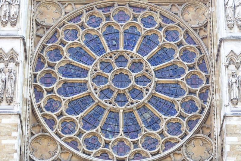 Abbaye de Westminster, une du temple Anglican le plus important, Londres, KingdomL uni photographie stock libre de droits