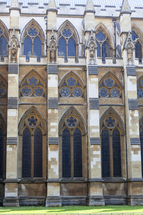 Abbaye de Westminster, une du temple Anglican le plus important, Londres, Royaume-Uni image libre de droits