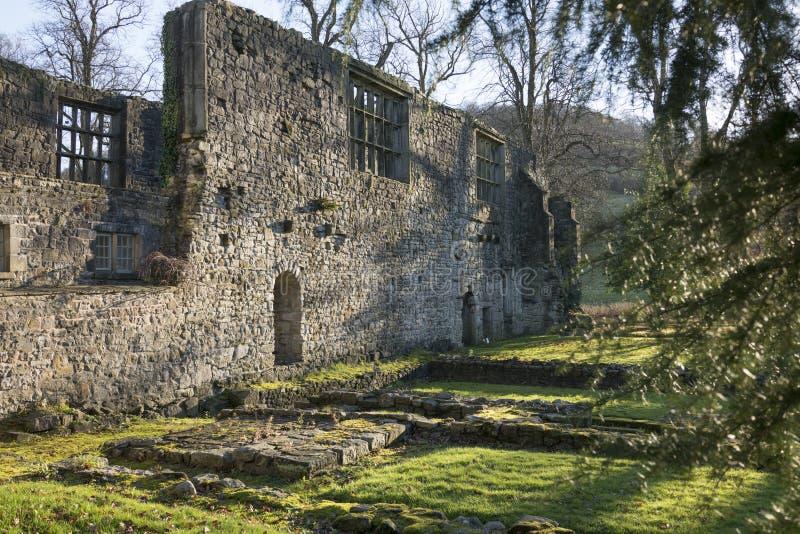 Abbaye de Whalley, Lancashire image libre de droits
