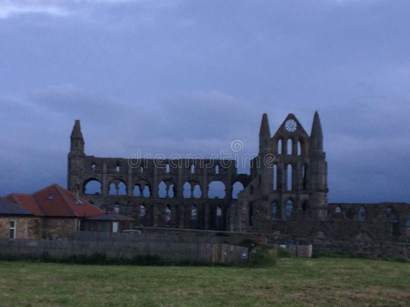 Abbaye de Whitby images libres de droits