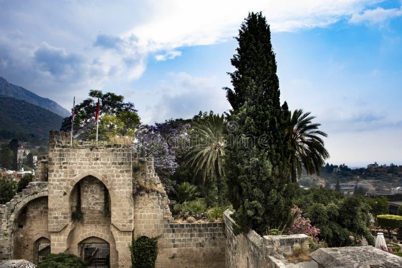 Abbaye des bellapais images stock
