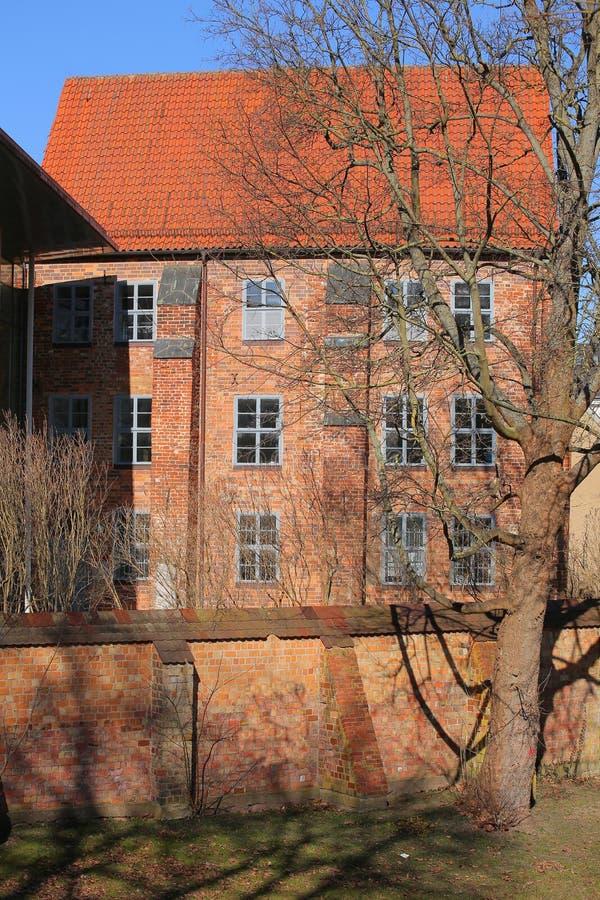 Abbaye franciscaine historique, listd comme monument dans Greifswald, Allemagne image stock