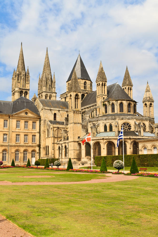 abbaye hommes Caen France hommes Normandy zdjęcie royalty free