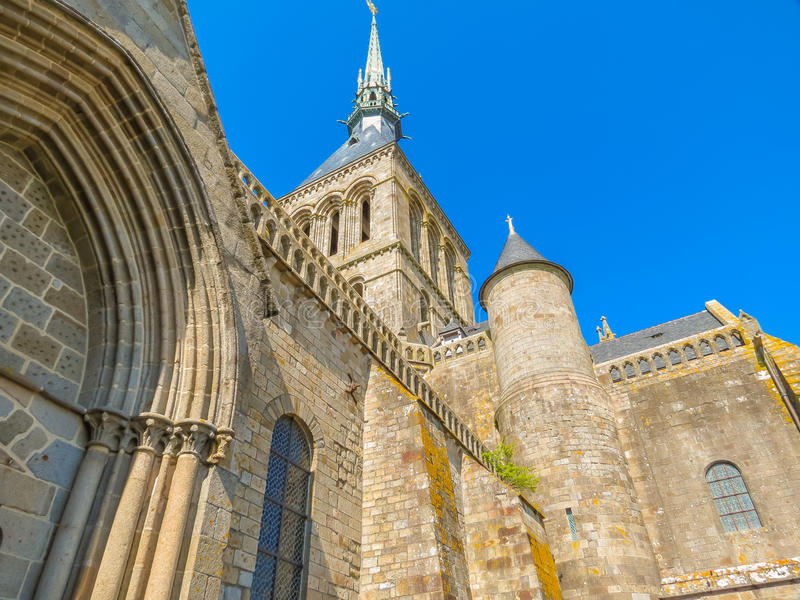 Download Abbaye Médiévale Mont Saint-Michel, France Image stock - Image du michele, français: 76079977