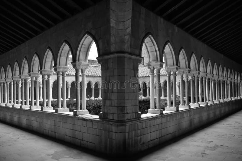 Abbaye Str. Marie stockbilder