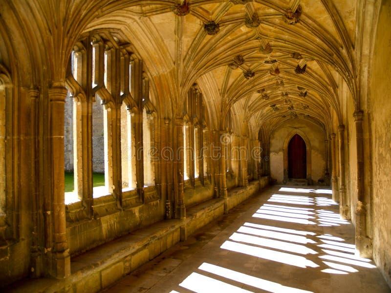 abbaye sunlit image stock