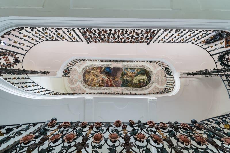 Abbazia Cistercense di Stams in Imst, Austria fotografie stock libere da diritti